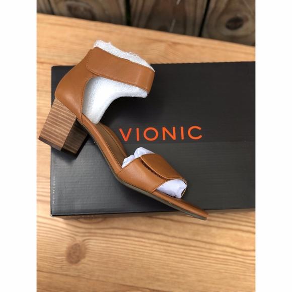 aec29b824e5e Vionic Solana Block Heel Ankle Strap Sandal